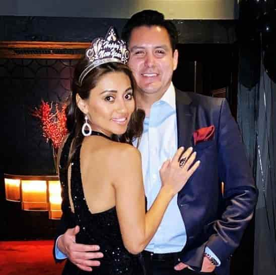 Rita Garcia with her soon to be husband