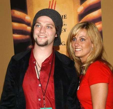 Margera along with his ex-girlfriend, Jenn Rivel