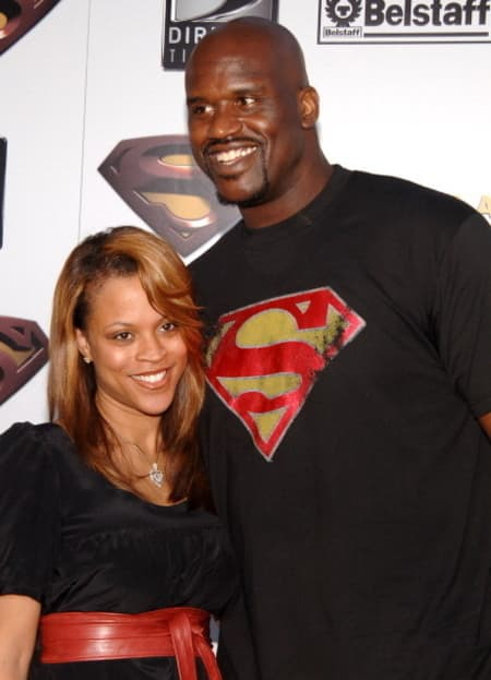 Shaquille O'Neal with wife know about their relationship