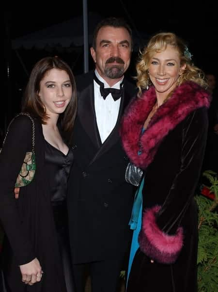 Kevin's Father with his second wife Jille and daughter