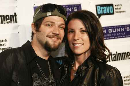 Melissa Rothstein and her former husband, Bam Margera