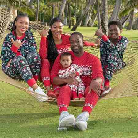 Zion Malachi Airamis  with her family
