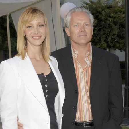 Michel Stern with his wife Lisa Kudrow