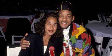 Will Smith along with his first wife, Sheree Fletcher