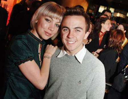 Frankie Muniz with his former partner, Jamie Grady. Know more about Frankie's dating history.