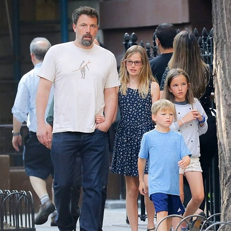 Ben Affleck shares two daughters and one son with his former wife,  Jennifer Garner