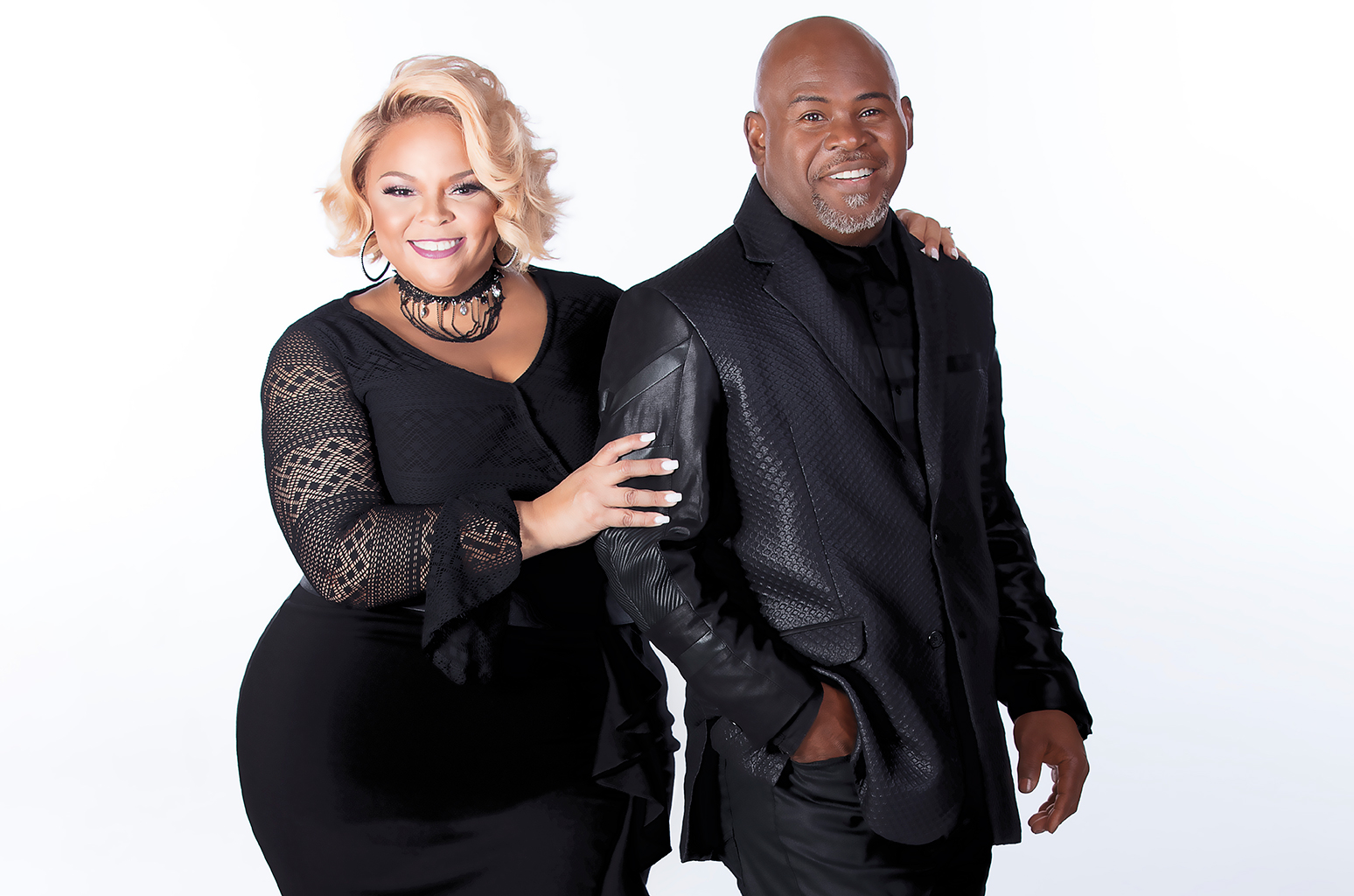 Tiffany father, David and her step-mother, Tamela