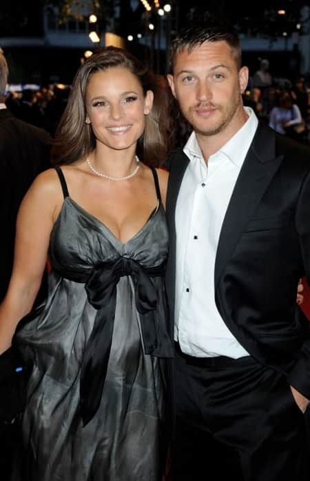 Tom Hardy with his second girlfriend Rachel Speed