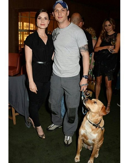 Charlotte Riley posted a image with her late dog Woodstock  on 5 June 2017