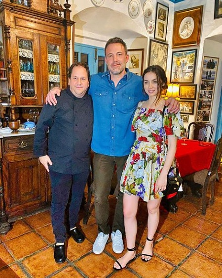 Ben Affleck spotted with Knives Out's co-starAna de Armas at the restaurant of Ivan Chef Justo