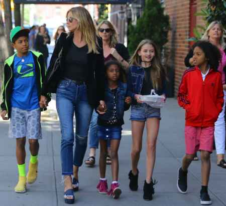 Tanya Samuel's brother, Seal's ex-wife, Heidi Klum with children. Want to know more about Tanya's siblings' personal life.