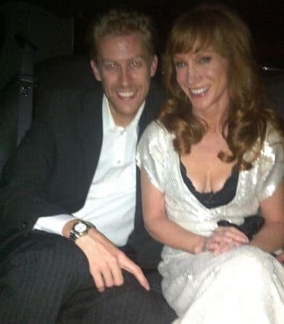 Randy Bick with his wife, Kathy Griffin