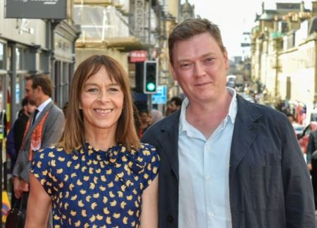 Kate Dickie and her partner, Kenny Dickie
