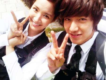 Lee Min-ho and his first ex-girlfriend, Park Min Young. Do you know about Min-ho's mysterious relationship with Bae Suzy?