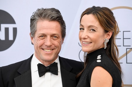 ESPN's former producer, Anna Elisabet Eberstein marries Hugh Grant on 15th May, 2018.