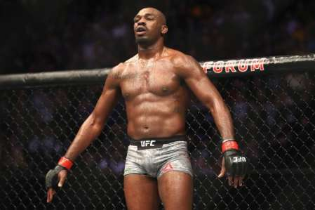 UFC Fighter, Jon Jones inside the ring