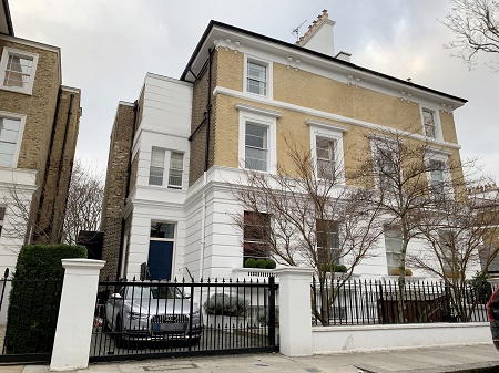 Actor, Hugh Grant buys six-bedroom €17.5 million semi-detached house in Chelsea