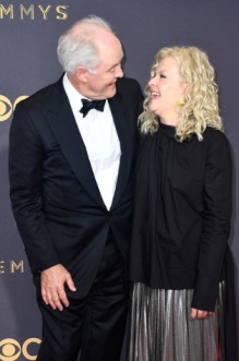 John Lithgow with his wife, Mary Yeager
