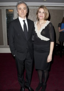 Ben Miles with his spouse, Emily Raymond