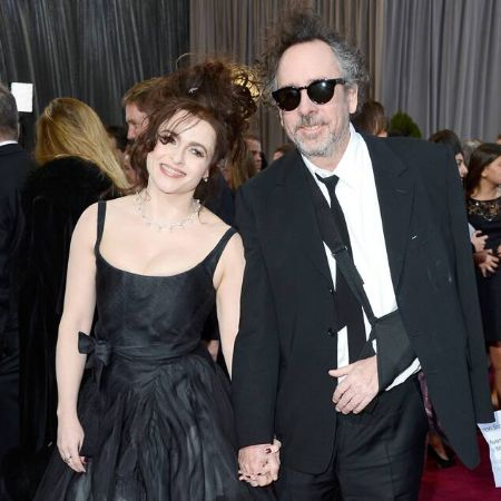 Helena and Tim in black dress