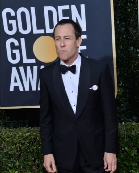 Tobias Menzies at the golden globe. He is currently single