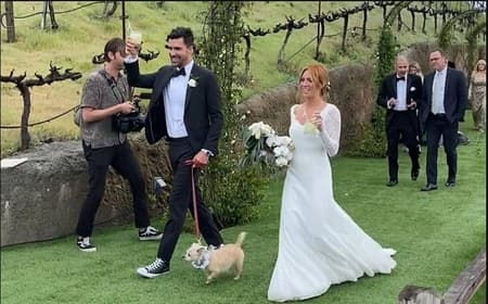 Pitch Perfect Star Brittany Snow's Wedding in Malibu with Tyler Stanaland