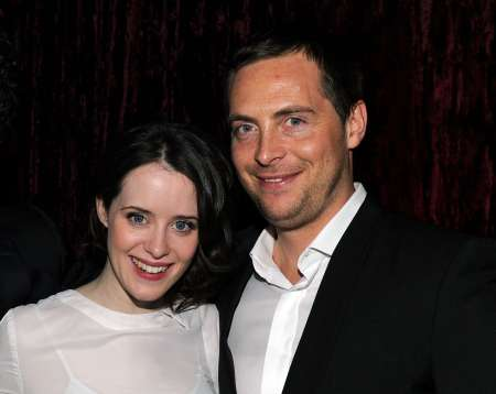 The crown Actress, Claire Foy with Stephan