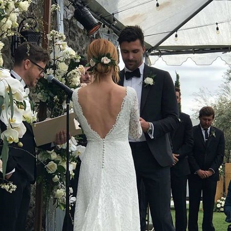 Pitch Perfect Star Brittany Snow' marries Tyler Stanaland in Malibu on March, 14, 2020