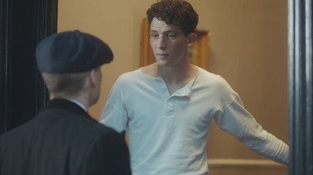 Josh O'Connor as James in Peaky Blinders