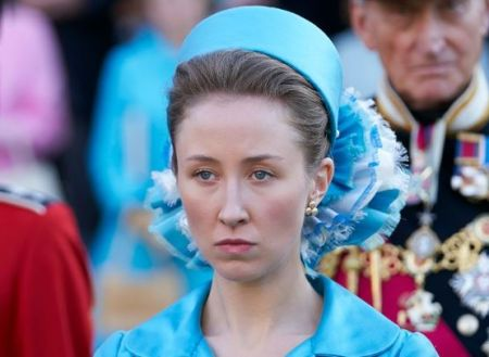 Erin Doherty played the young Princess Anne in the third series of Netflix drama, The Crown.
