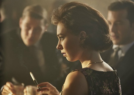 Vanessa Kirby as Princess Margaret in Netlix show, The Crown (Season 2)