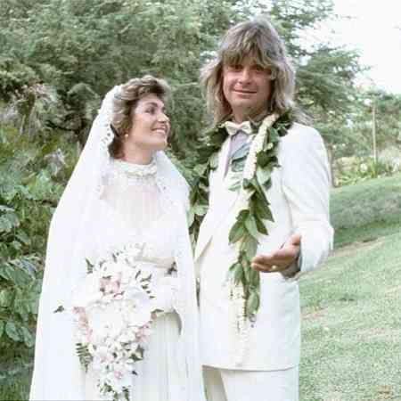 Ozzy Osbourne with Sharon Osbourne at the time of wedding. Know about the married couple's first meeting?