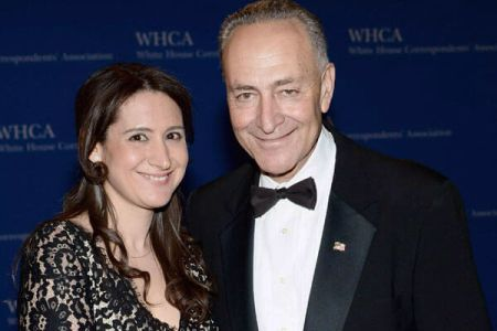 Chuck Schumer and his daughter