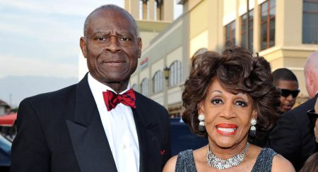Maxine Waters and her husband Sid Williams