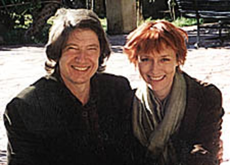 Guy Hibbert is a second husband of director, Lia Williams