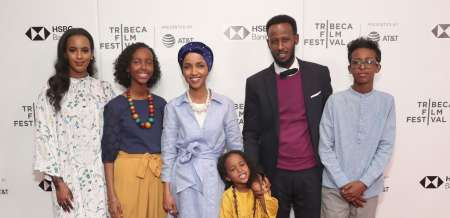 Isra Hirsi family photo