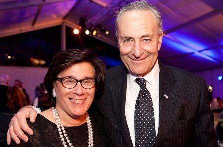 New York Senator, Chuck with Iris