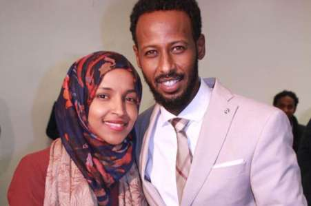 The former husband of Ilhan Omar