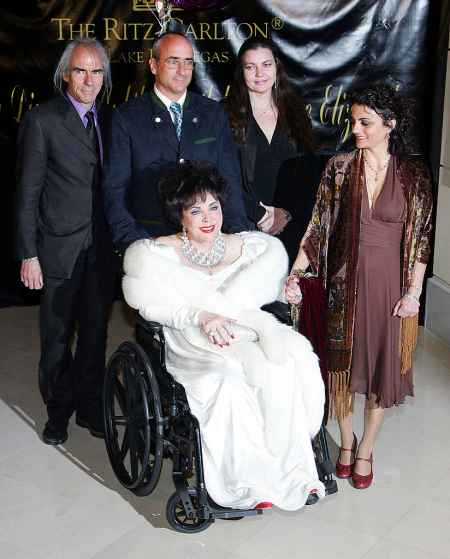 The family photo of Elizabeth Taylor