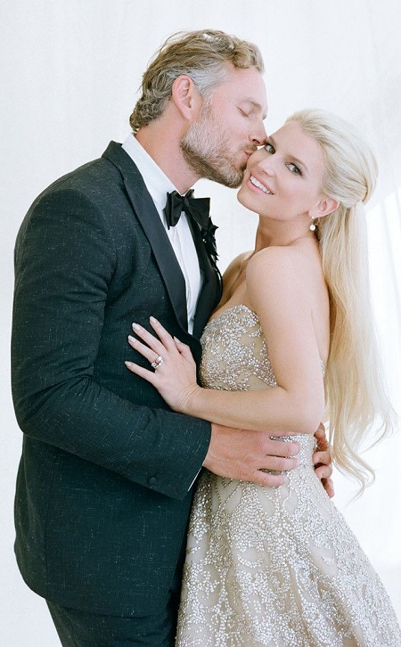 Jessica Simpson marries Eric Johnson in 2014