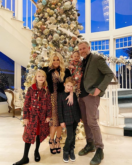 Jessica Simpson and  Eric Johnson are happy parents to three children