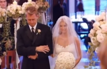 Jessica Simpson and Nick Lachey' wedding day was a perfect