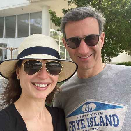 Bianna Golodryga with her husband