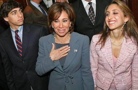 Jeanine Pirro shares a daughter and a son with her ex-husband, Albert Pirro