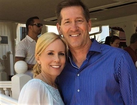 Stacy Hornacek with her husband, Jeff Hornacek