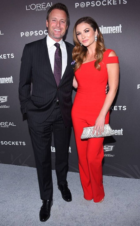 Chris Harrison started dating his new girlfriend,  Lauren Zima after the divorce with first wife, Gwen