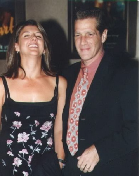 Cindy Millican with her late husband, Glenn Frey