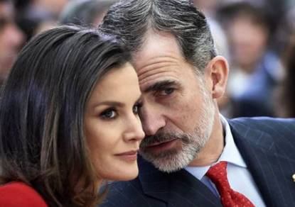 King and Queen of Spain