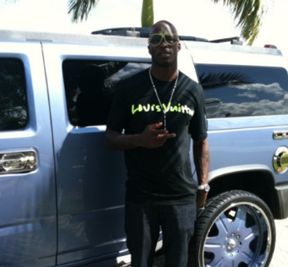 Chad Johnson in front of his jeep
