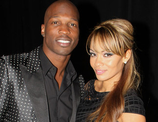 Chad Johnson And His Ex- Wife Evelyn Lozada
